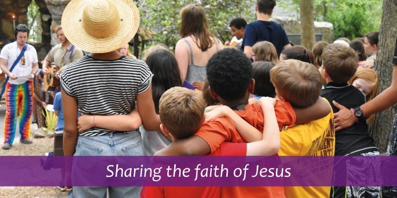 Sharing the faith of Jesus